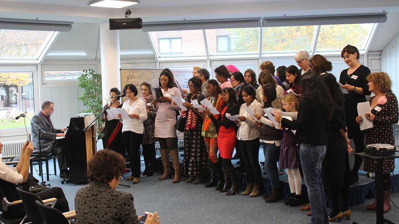 Dialogveranstaltung_ Migrantinnen in Pflegeberufen